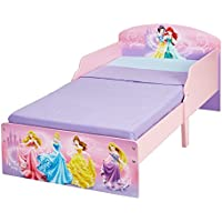Disney Princess 454DSN Prinzessinnen Kinderbett von Worlds Apart, Holz, 142 x 77 x 59 cm, rosa preisvergleich bei kinderzimmerdekopreise.eu