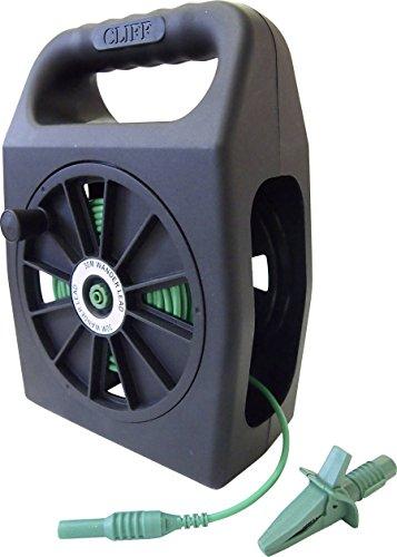 Kit Spike von Sicherheit [Stecker 4mm-Buchse 4mm] 50.00m grün Cliff cih299450