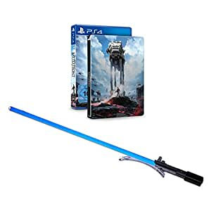 Star Wars Battlefront - Steelbook Edition inkl. Lichtschwert Luke Skywalker (exklusiv bei Amazon.de) - [PlayStation 4]
