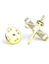Pin de Traje Emblema de la Guardia Civil Haz de Lictores y Espada