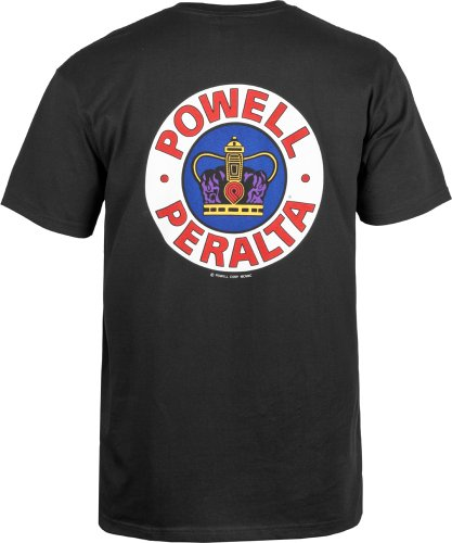 Herren T-Shirt Powell Peralta Supreme T-Shirt Black