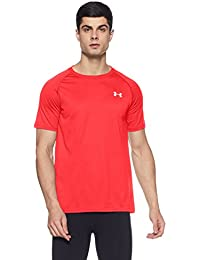 Under Armour Ua Tech Ss Tee Herren Fitness - T-Shirts & Tanks, Rot Red, XS