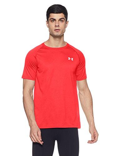 Under Armour UA Tech Ss Tee Herren Fitness - T-Shirts & Tanks, Rot (Red), 3XL (Bekleidung Herren Uk)