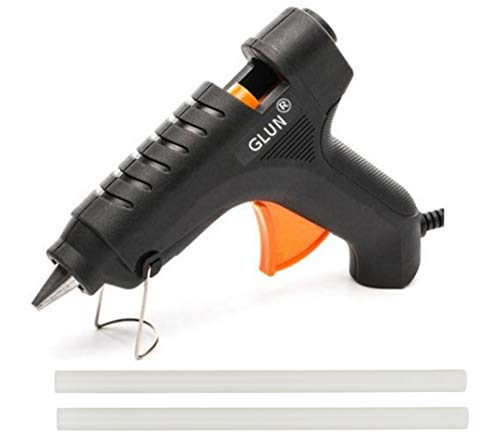 GLUN 40W 11 mm Hot Melt Glue Gun with Glue (2 Sticks)