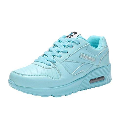 Laufschuhe Damen, Sonnena Frauen Mode Flat Lace up Knöchel Schuhe Turnschuhe Damen Outdoor Bequem Gym Trainer Sneaker Joggingschuhe Ultra-Light Schuhe
