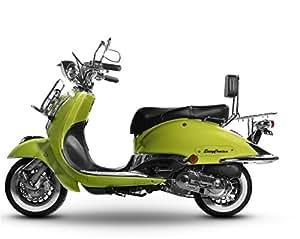sport roller carbono 125 ccm schwarz matt motorroller. Black Bedroom Furniture Sets. Home Design Ideas