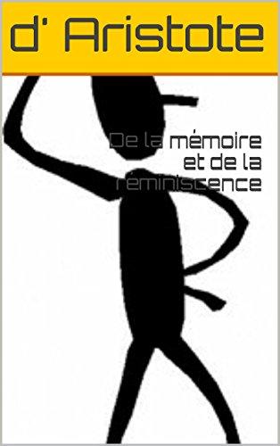 De la mémoire et de la réminiscence