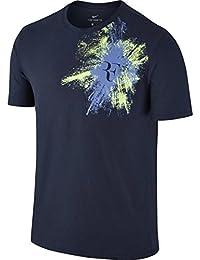 T Shirt Nike Roger Federer RF Bleu Été 2017 - M