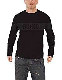 AC/DC Jumper Sweater classic band Logo Highway to Hell nouveau officiel Homme