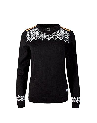 Dale of Norway - Pull pour femme Lillehammer, couleur noir