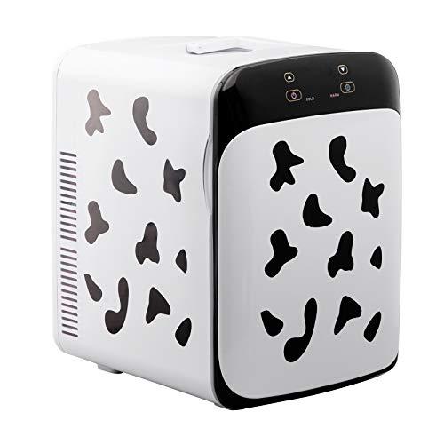 WOLTU KUE006 Kühlbox, Thermo-Elektrische Mini-Kühlschrank, 15L Isolierbox Erwärmen, warmhalten oder kühlen, 12V&220V, für Auto und Camping