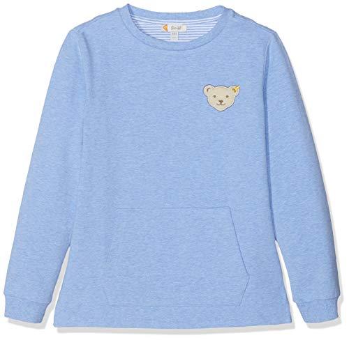 Steiff Jungen Sweatshirt, Blau (Marina 6026), Herstellergröße:98 Kinder Sweatshirt Marine