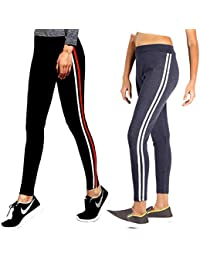 77466c02fb436 CEE 18 Women's Slim Fit Stretchable Jeggings Combo of 2 (9051_Combo, Waist  Size-