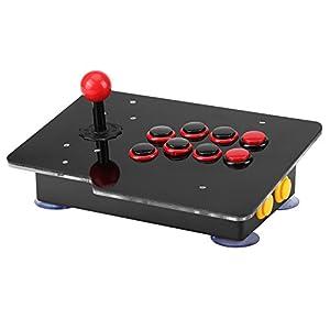 BigBig Style USB-Joystick-Stick-Tasten Controller-Steuergerät für PC-Arcade-Spiel
