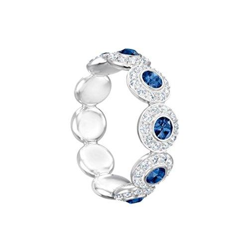 Swarovski Damen-Ringe Edelstahl Kristall Ringgröße 52 5441204