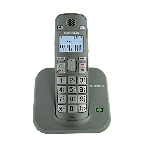 Telefunken TB 601Teléfono fijo gris