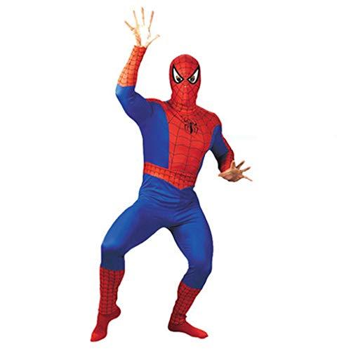 HYYSH Festliche Erwachsenen Kostüm Cosplay Leistung Männliche Spiderman Superman Kleidung Anime Kostüm