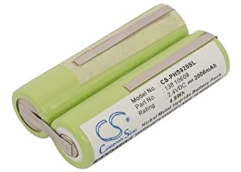 Vintrons Replacement Battery For Remington Ms2-280, Ms2-290 0