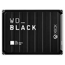 Western Digital WD Black P10 Game Drive per Xbox One, Hard Disk Esterno Portatile, 5 TB, Nero