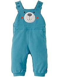 BORNINO La salopette sweat pour bébé pantalon bébé, taille 50/56, bleu