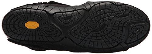 Vibram FiveFingers Unisex-Erwachsene Mid-Boot New Yorker Klassische Stiefel Schwarz (Black)