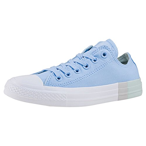 Converse Chuck Taylor AAL Star Ox Damen Sneakers Blau (blue chill/dried bamboo/white)