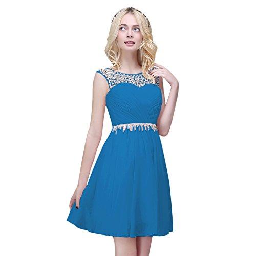 Vimans -  Vestito  - linea ad a - Donna Blue 2
