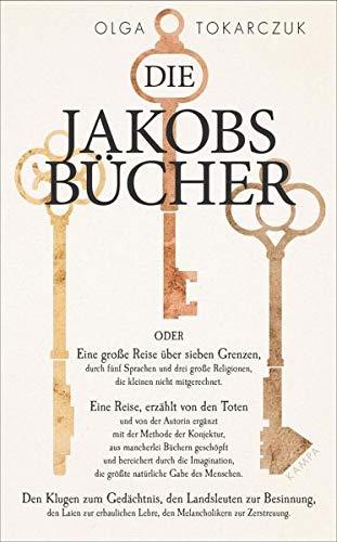 Buchseite und Rezensionen zu 'Die Jakobsbücher' von Olga Tokarczuk
