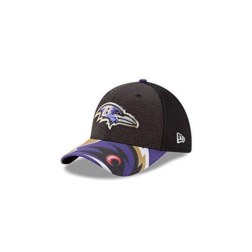 New Era NFL 2017 Draft On Stage 39Thirty Stretch Fit Cap, Unisex-Erwachsene, 39THIRTY, schwarz, Small/Medium - Ravens Cap Era New