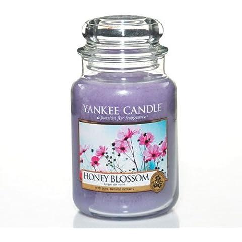 Yankee Candles Gran vela Jar - miel de flores