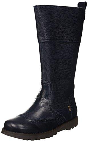 Bisgaard Mädchen 60301218 Hohe Stiefel, Blau (604 Blue), 39 EU