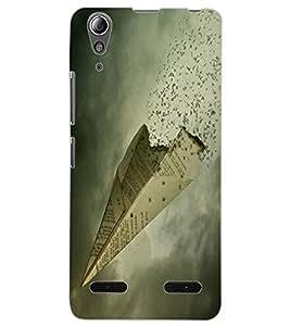 ColourCraft Creative Image Design Back Case Cover for LENOVO A6000 PLUS