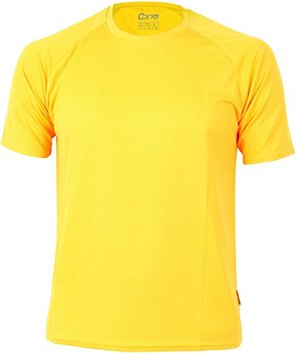 Basic Funktions - Sport T-Shirt in vielen Farben gold yellow