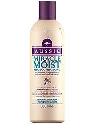 Aussie - Miracle Moist Shampoing pour Cheveux Secs et Abîmés - 300 ml