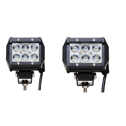 LED-heller Stab 18W LED Arbeits-Licht-Stangen LED-Pod beleuchtet CREE Punkt-Lichtstrahl 1800LM im Gelände -
