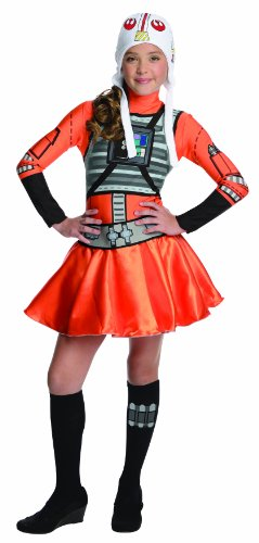 Mädchen Kostüm Xwing Fighter - X-Wing Fighter Tween Dress Fancy dress costume Small