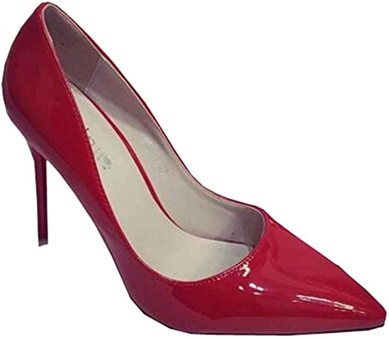 XiuHong Shop D-0001G Damen Hochhackige Schuhe  2018 Letztes Modell  Mode Schuhe Billig Online-Verkauf
