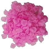 Icecode Silk Rosenblätter für Hochzeit Pink Blütenblätter Hochzeit Vorschlag Dekorationen Fake Blume Blütenblatt