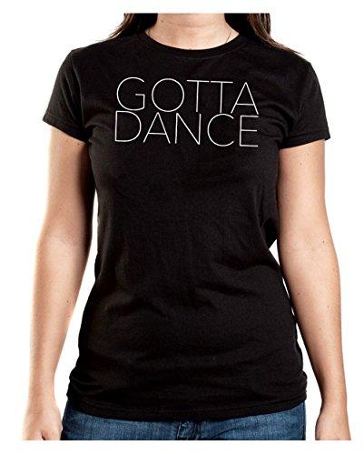 Gotta Dance T-Shirt Girls Nero-XXL
