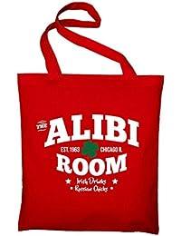The Alibi Room Bar Frank Gallagher Fan Logo TV Serie Jute Jutebeutel, Beutel, Stoffbeutel, Baumwolltasche
