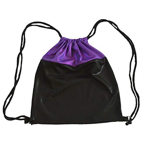 für Tänzerinnen, Sport Gym Sack Kordelzug Rucksack Tasche Umhängetaschen für Kleine Mädchen Kinder Frauen ()