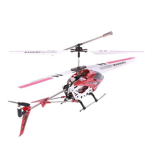 Syma S107G Mini 3 Canaux Infrarouge RC Hélicoptète avec Gyroscope