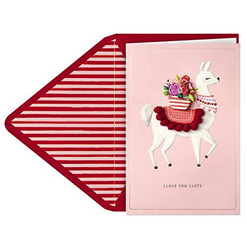 Hallmark Signature Valentinstagskarte (Llama Llove)