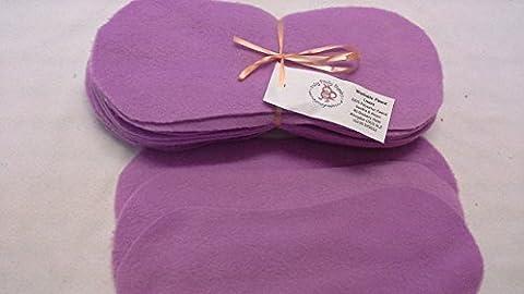 Easy Peasy Fleece Nappy Liners Pk 15 Lilac Polar Fleece
