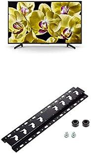 Sony KD-75XG8096 Bravia 75 Zoll (189cm) Fernseher (Ultra HD, 4K HDR, Android Smart TV, Chromecast) schwarz + W