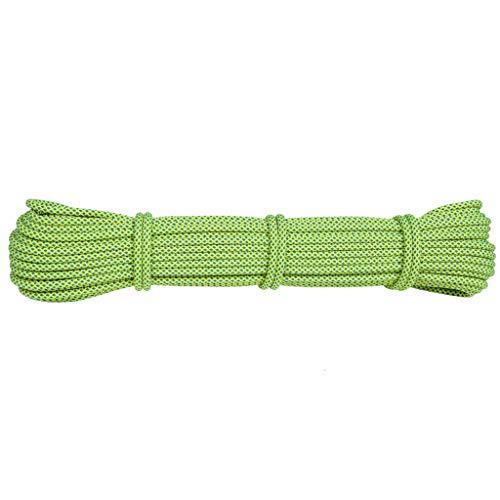 Preisvergleich Produktbild Yuan Rope Zubehör für Zusatzseil-Outdoor-Ausrüstung liefert Kletterausrüstung für Bergsteiger-Seilschirme mit Seil 1 Meter 1 Stück 6mm 6 Farben / & (Farbe : E6mm / m)