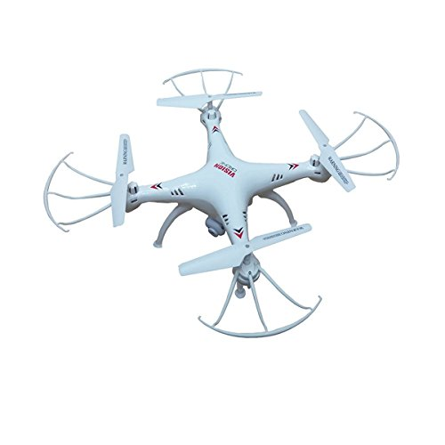 SUPER TOYS Plastic Vision Drone with USB Charger and RC, Multi-Coloured