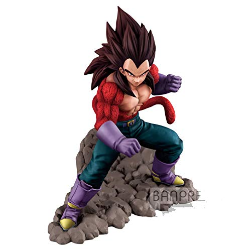 DBZ Dragon Ball GT Dokkan Battle 4th Anniversary SSJ4 Vegeta PVC Action Figur Model Figure Dolls