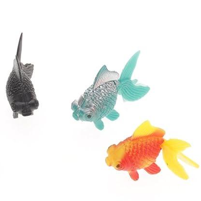 5pcs Plastic Artificial Fish Ornament for Fish Tank Aquarium 5