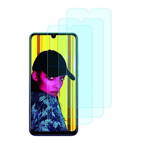 Película Protetora iTieTie P Smart 2019, (Não para Smart P) [3 Packs] [Sem Bolhas] [Alta Definição] [Anti-Scratch] Protetor Vidro Temperado para Huawei P Smart 2019